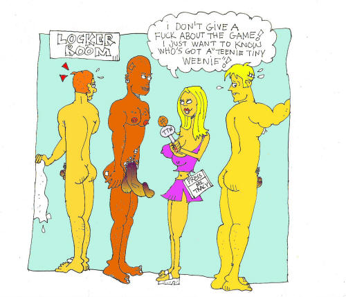 Miss Tracy's Tiny Dick cartoon